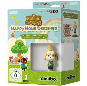 Animal Crossing: Happy Home Designer + amiibo Fuffi (v. estivo)