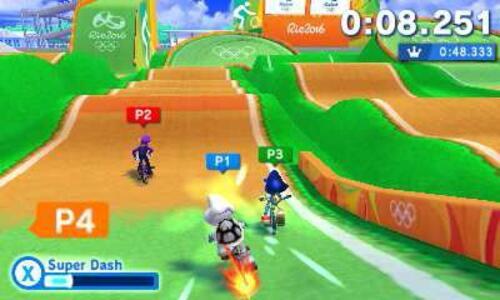 Mario & Sonic ai Giochi Olimpici di Rio 2016 - 3DS - 10