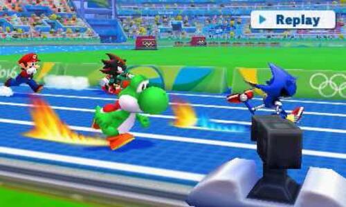 Mario & Sonic ai Giochi Olimpici di Rio 2016 - 3DS - 11