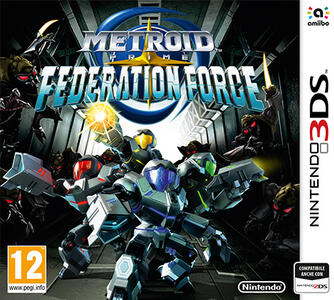Metroid Prime: Federation Force - 3DS - 2
