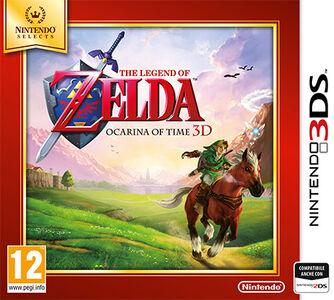 Videogioco Legend of Zelda: Ocarina of Time 3D - Nintendo Selects - 3DS Nintendo 3DS