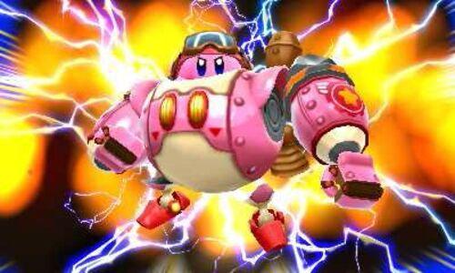 Videogioco Kirby: Planet Robobot + amiibo Kirby Nintendo 3DS 5