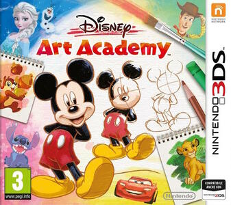 Disney Art Academy - 3DS - 5