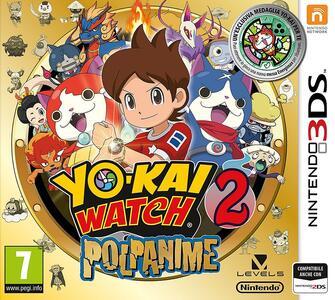 Yo-kai Watch 2: Polpanime Limited Edition con Medaglia - 3DS - 3