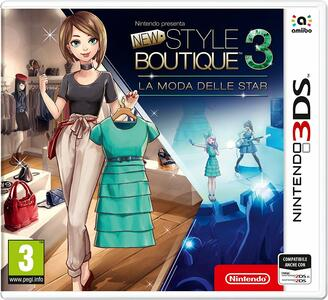 New Style Boutique 3. La moda delle star - 3DS - 3