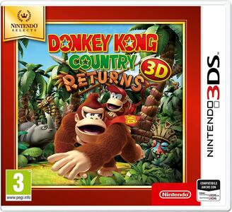 Donkey Kong Country Returns 3D Select - 3DS - 2