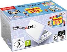 """Nintendo New 2DS XL console da gioco portatile Lavanda, Bianco 12,4 cm (4.88"""") Touch screen Wi-Fi"""