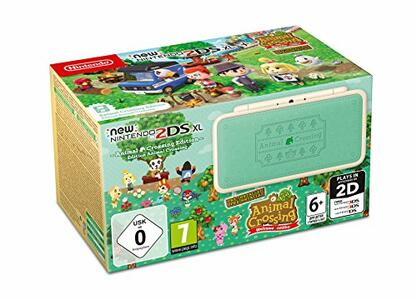 Nintendo New 2DSXL Animal Crossing Ed. - 2DS