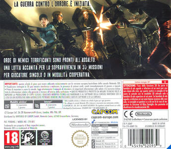 Resident Evil: The Mercenaries 3D - 3