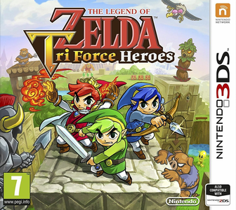 Videogioco Legend of Zelda: Tri Force Heroes Nintendo 3DS