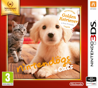 Videogioco Nintendogs + Cats Golden Retriever Select Nintendo 3DS