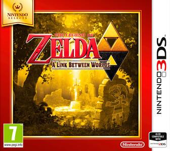 The Legend of Zelda: A Link Between Worlds - Nintendo Selects - 3DS - 3