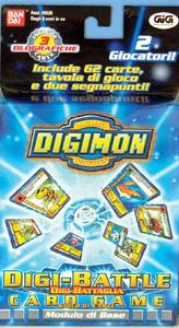 Giocattolo Digimon Battle Game Modello Base GIG 0
