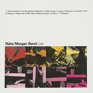 Live - CD Audio di Mats Oberg,Morgan Agren