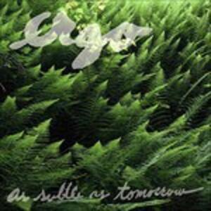 As Subtle As Tomorrow - CD Audio di Ergo