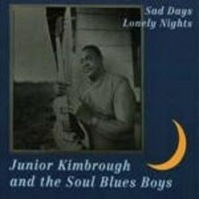 Sad Days Lonely Nights - Vinile LP di Junior Kimbrough