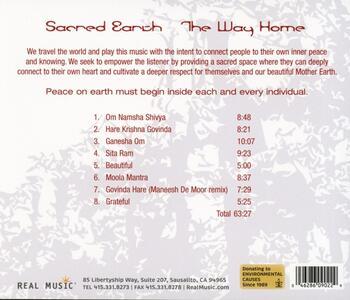 Way Home - CD Audio di Sacred Earth - 2
