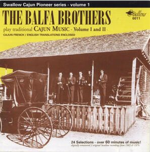 Play Traditional Cajun Music - CD Audio di Balfa Brothers