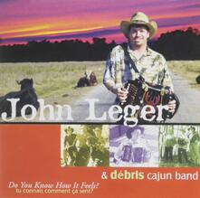 Do You Know How it Feels - CD Audio di John Leger