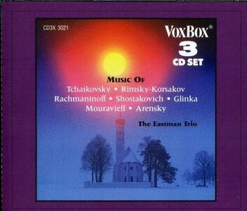 Russian Chamber Music - CD Audio