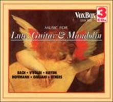 Music for Lute, Guitar & - CD Audio