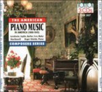 Musica per Pianoforte in America 1900-1945 - CD Audio di George Antheil