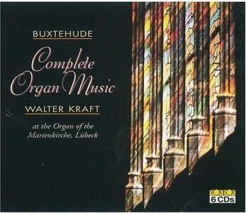 Musica per Organo - CD Audio di Dietrich Buxtehude