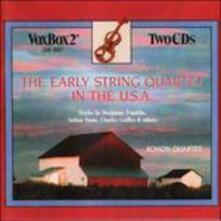 I Primi Quartetti Darchi Degli Stati Uniti - CD Audio di George Whitefield Chadwick