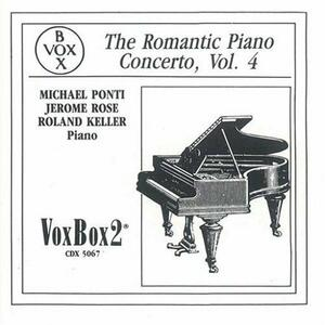 Romantic Piano Concerto vol.4 - CD Audio