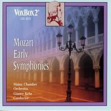 Early Symphonies - CD Audio di Wolfgang Amadeus Mozart