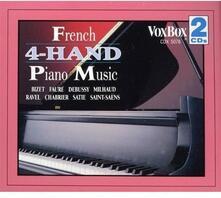 4 Hand Piano Music - CD Audio