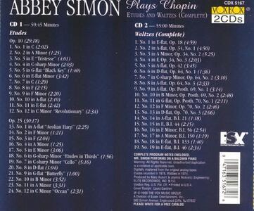 Studi - Valzer - CD Audio di Fryderyk Franciszek Chopin - 2