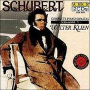 Sonate per pianoforte vol.1 - CD Audio di Franz Schubert
