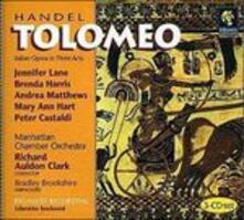 Tolomeo - CD Audio di Georg Friedrich Händel