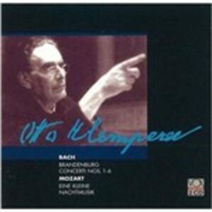 Concerto brandeburghesi - CD Audio di Johann Sebastian Bach