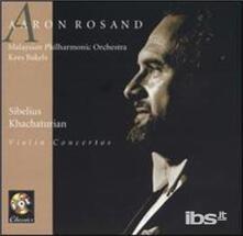 Concerti per Violino - CD Audio di Jean Sibelius,Aram Khachaturian