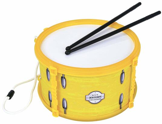 Yellow Marching Drum