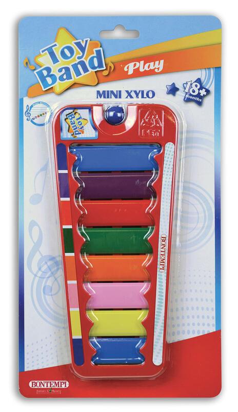 Xilofono a 8 Piastrine Colorate. Bontempi (55 0832)