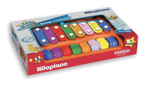Bontempi 55 0725. Toy Band Baby. Xilopiano A 8 Note Con Bacchetta - 2