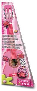 Bontempi Gsw 7571/S. Chitarra Classica In Legno 75 Cm A 6 Corde Con Metodo Musicale