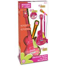 Chitarra Rock con Microfono da Palcoscenico per L'Amplificazione Della Voce. Bontempi (24 5872)