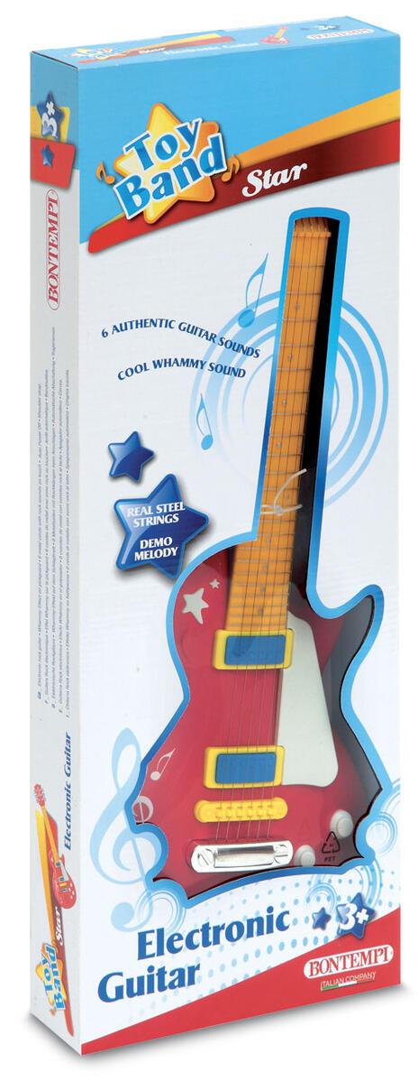 Toy Band Star. Chitarra Rock Elettronica con Effetto Whammy. Bontempi (24 5831)