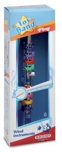 Bontempi 32 4431. Toy Band Play. Clarino Cromato Grande A 8 Chiavi/Note Colorate - 4