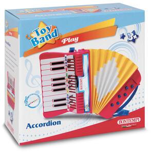 Do-Sol Con Diesis E 6 Bassi Con Tracoll Bontempi 33 1780. Toy Band Play. Fisarmonica 17 Tasti