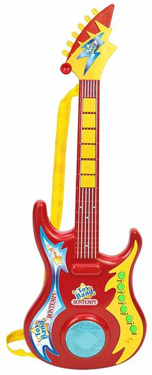 Chitarra Rock Elettronica 5 Canzoni 6 Basi Rock 6 Melodie in Any Key Play. Bontempi (24 6909)