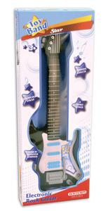 Bontempi 24 4810. Toy Band Star. Chitarra Rock Elettrica Con 4 Differenti Suoni Ritmici - 2
