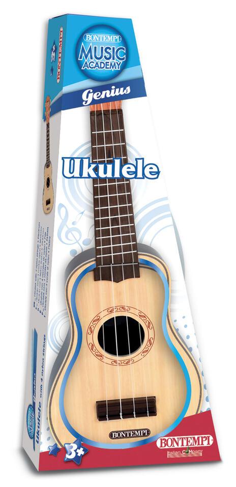 Toy Band Play. Ukulele con 4 Corde di Nylon. Bontempi (20 5303) - 2