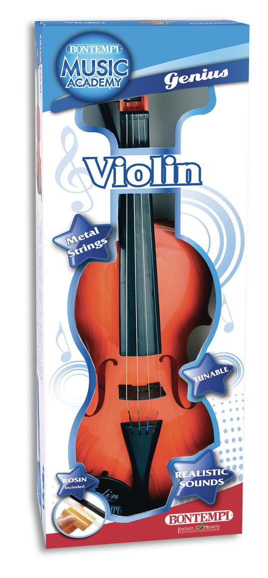 Toy Band Star. Violino Classico a 4 Corde di Metallo Accordabile. Bontempi (29 1100) - 2