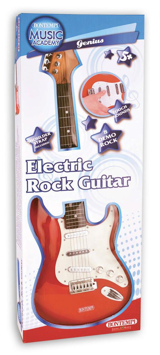 Toy Band Star. Chitarra Elettrica con Tracolla. Bontempi (24 1300) - 2