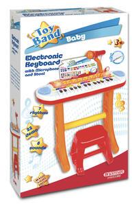 Bontempi 13 3225. Toy Band Baby. Tastiera Elettronica 31 Tasti Con Microfono E Sgabello - 2